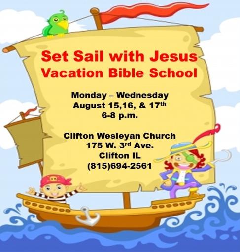Set Sail With Jesus ad