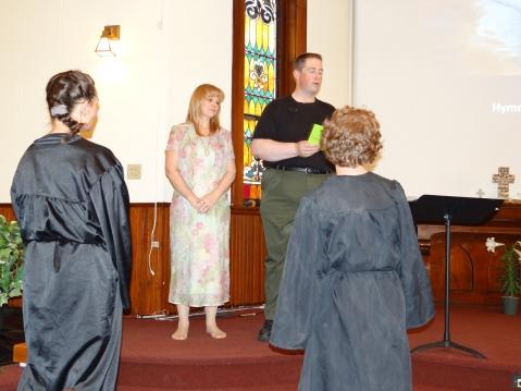 Easter Baptism 2013